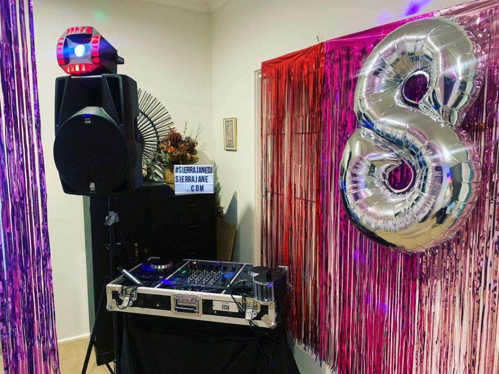 Sierra Jane DJ 8th birthday