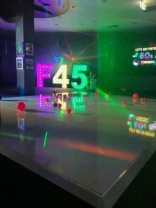 Abella Dance Floors light up