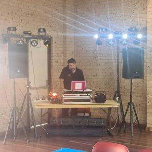 Amp Entertainment DJ & speakers