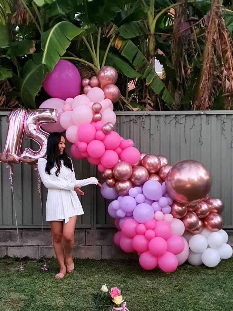 Bailando Balloons birthday girl