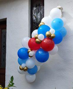 Bailando Balloons blue & gold