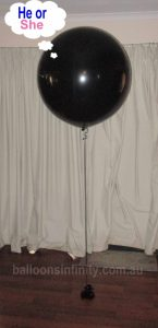 Balloons Infinity gender reveal