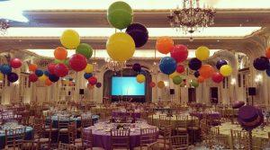 Bubblegum Balloons room setup