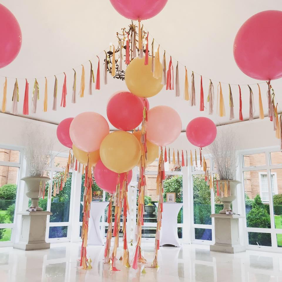 Bubblegum Balloons setup small