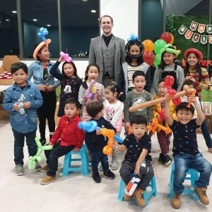 Cameron The Magician kid's parties