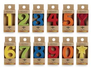 Eco Party Box bee wax candles