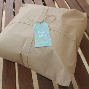 Eco Party Box wrapping paper