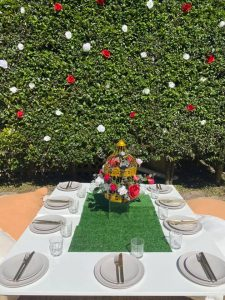 Events By Ebony Louise outdoor setting