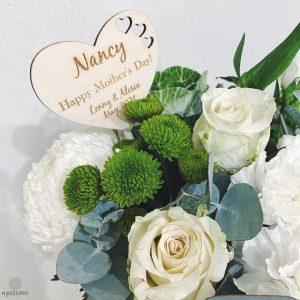 Hazelnut Laser Design flowers