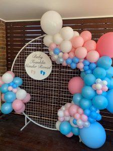 I&Z Balloon Creations gender arch