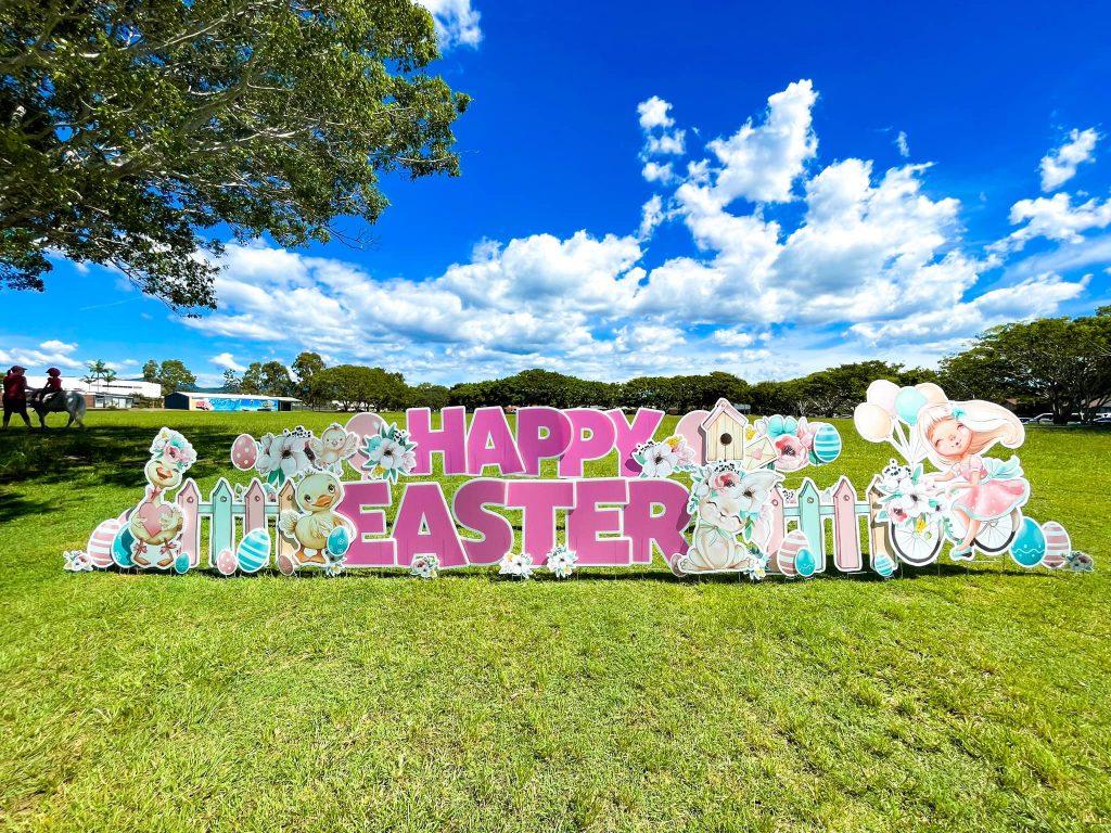 Lawn Letters Australia easter