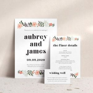 Paperfox Design florals