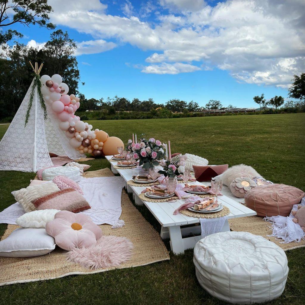 Party Collective boho picnic