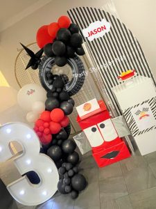Party Styling By Nil lightning mcqueen