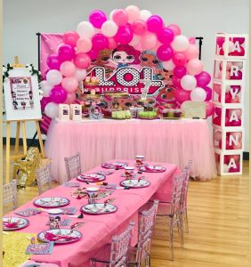 Party Hire G birthday