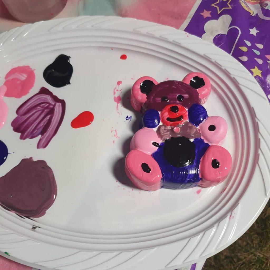 Plaster Fun bear