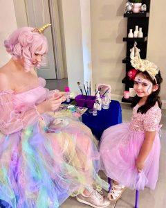 Princess Parties unicorn