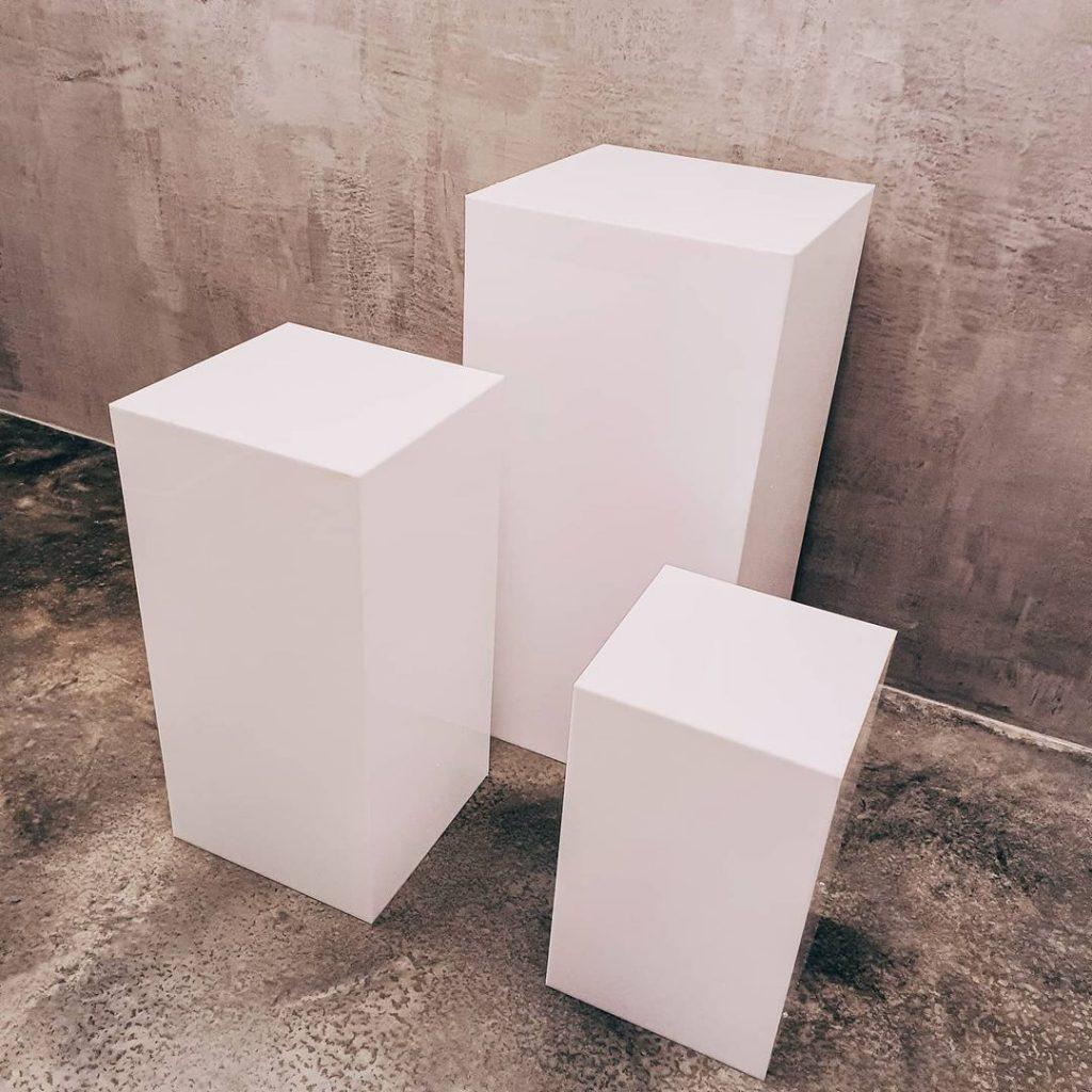 Prop Up Party plinths