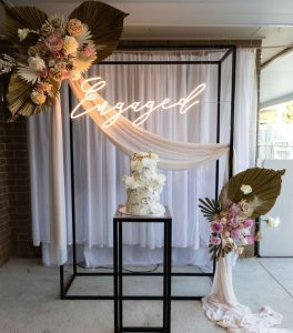 RK Creations Event Styling engagement