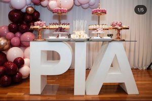 RK Creations Event Styling pias desserts