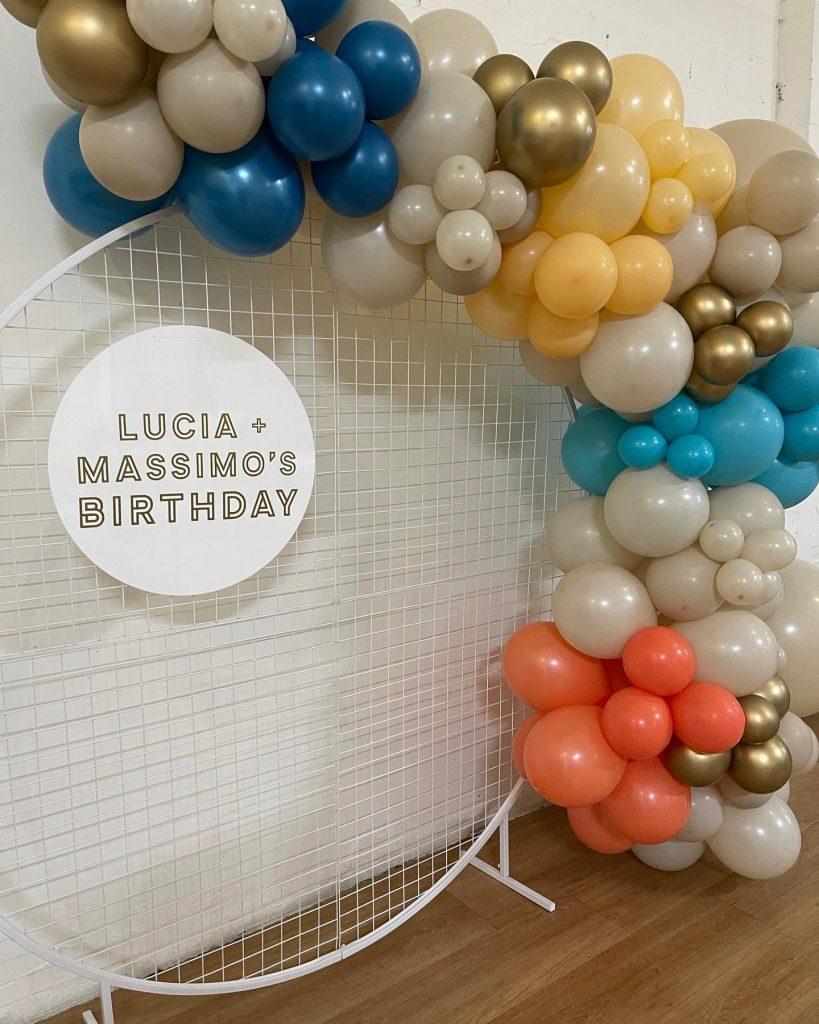 Rustic Balloons Melbourne birthday