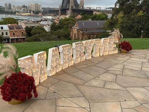 Shine Bright Letters proposal