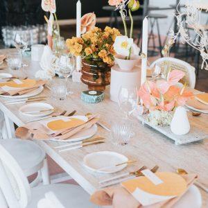 Side Serve wedding