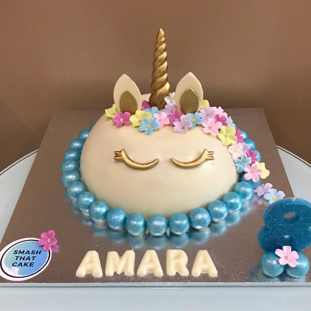 Smash That Cake unicorn