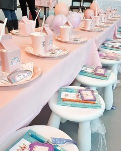 Styled by BVEK table places