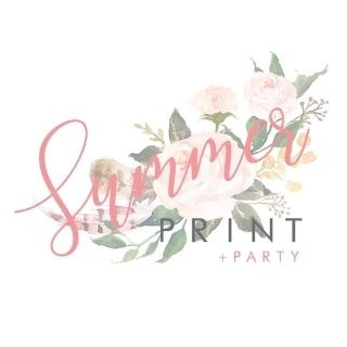 Summer Print + Party