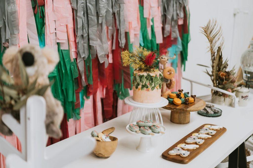 Vicky Rahmic Weddings + Events cake