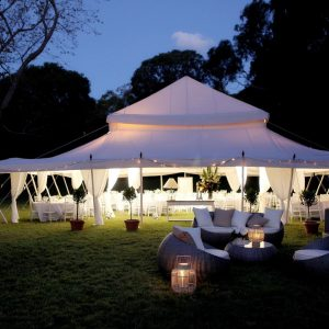 Whitehouse Marquees by night