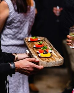 Zing Fresh Catering canapes