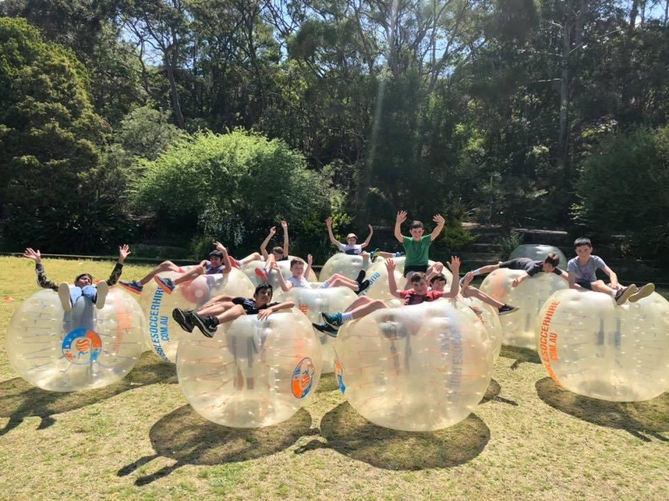 Bubble Soccer Hire birthday