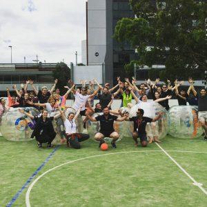 Bubble Soccer Hire corporate