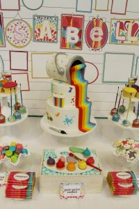 Events By Nat paint cake