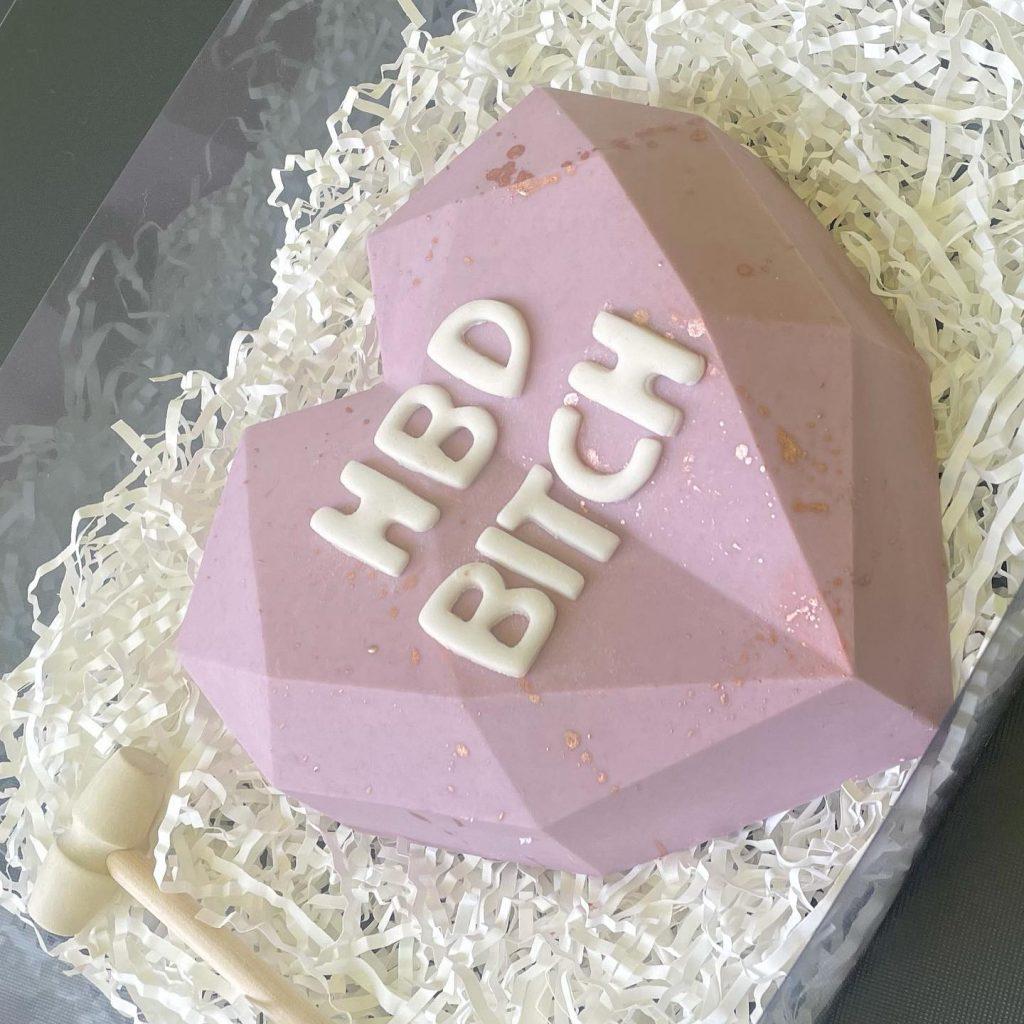 Gorg Cake Designs HBD bitch