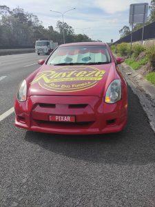Lightning McQueensland roadside