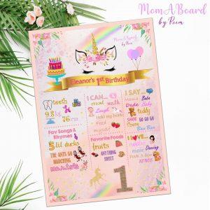 MomABoard By Reem birthday board