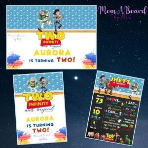 MomABoard By Reem milestone board