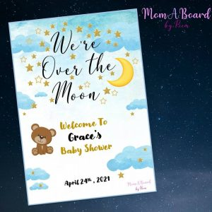MomABoard By Reem welcome sign