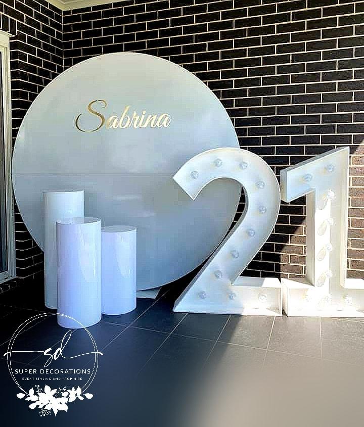 Super Decorations 21st