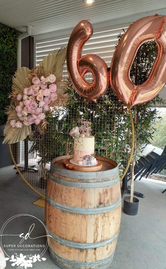Super Decorations 60th