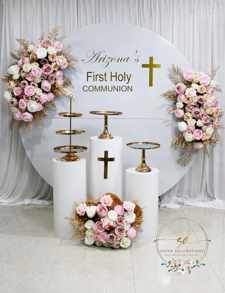 Super Decorations holy communion
