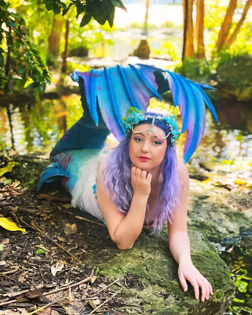 Mermaid Melody pose