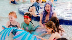 Mermaid Melody pool party