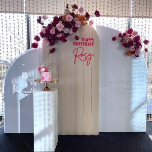 AK Event Styling rosy