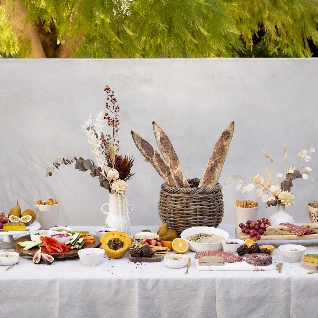 Alma Catering setting