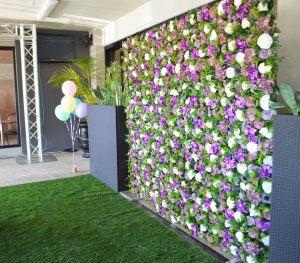 Blossom Events Hire flowers wall