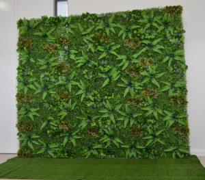 Blossom Events Hire green wall
